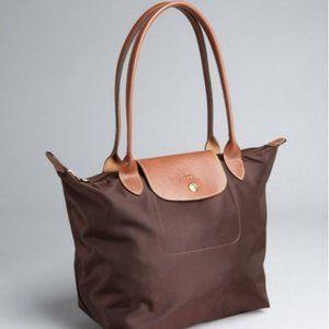 Vintage Chocolate Brown  Longchamp Le Pliage Tote
